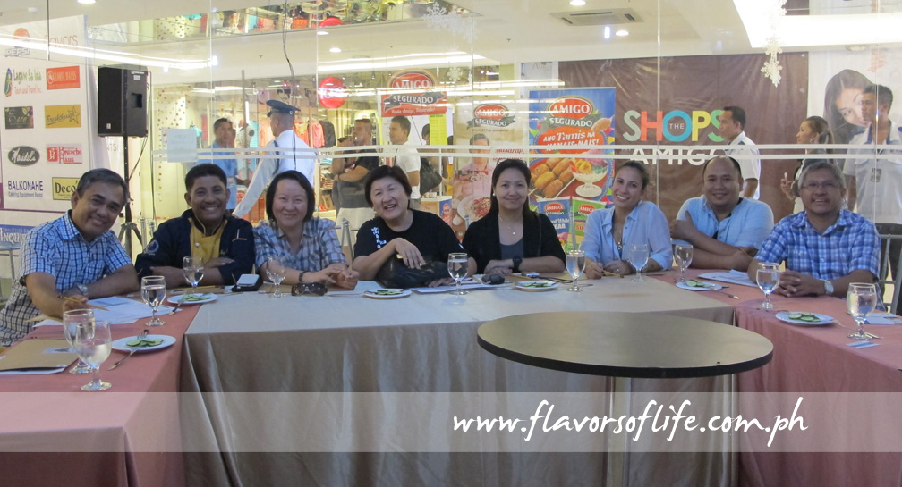 Some of the judges, from left: Ige Ramos, Chef Boy Logro, me, Micky Fenix, Vangie Reyes, Stephanie Zubiri-Crespi, Chef Myke Sarthou and Boboi Costas