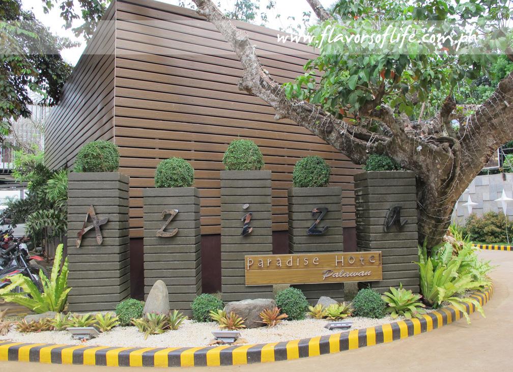 Facade of Aziza Paradise Hotel