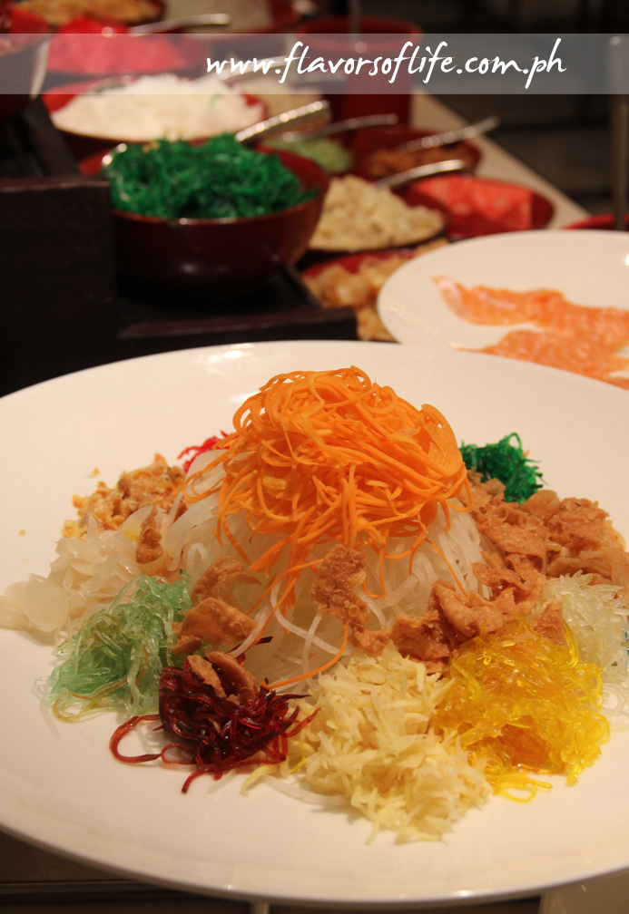 The Yee Sang prosperity salad