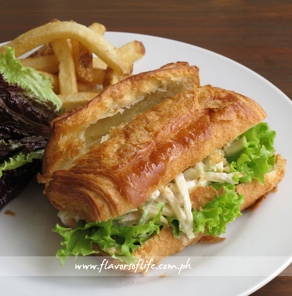 Waldorf Salad Sandwich