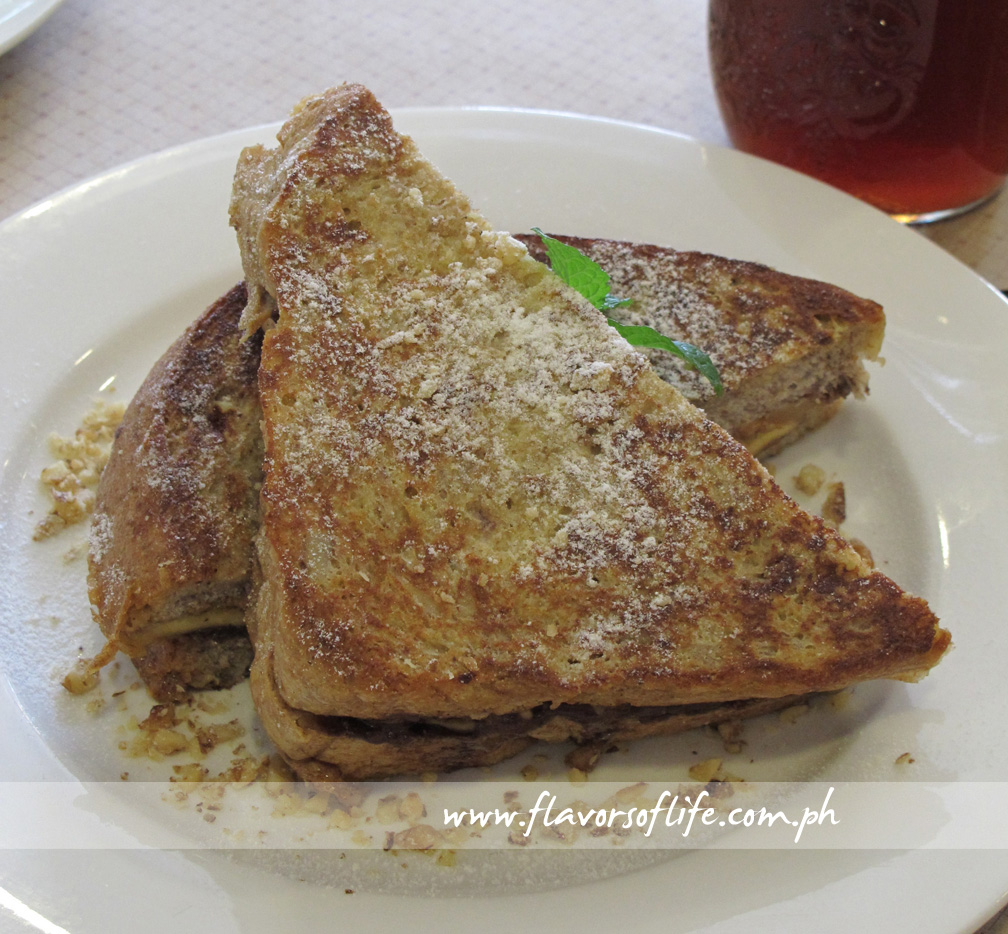 PBB Chocolate Stuffed French Toast