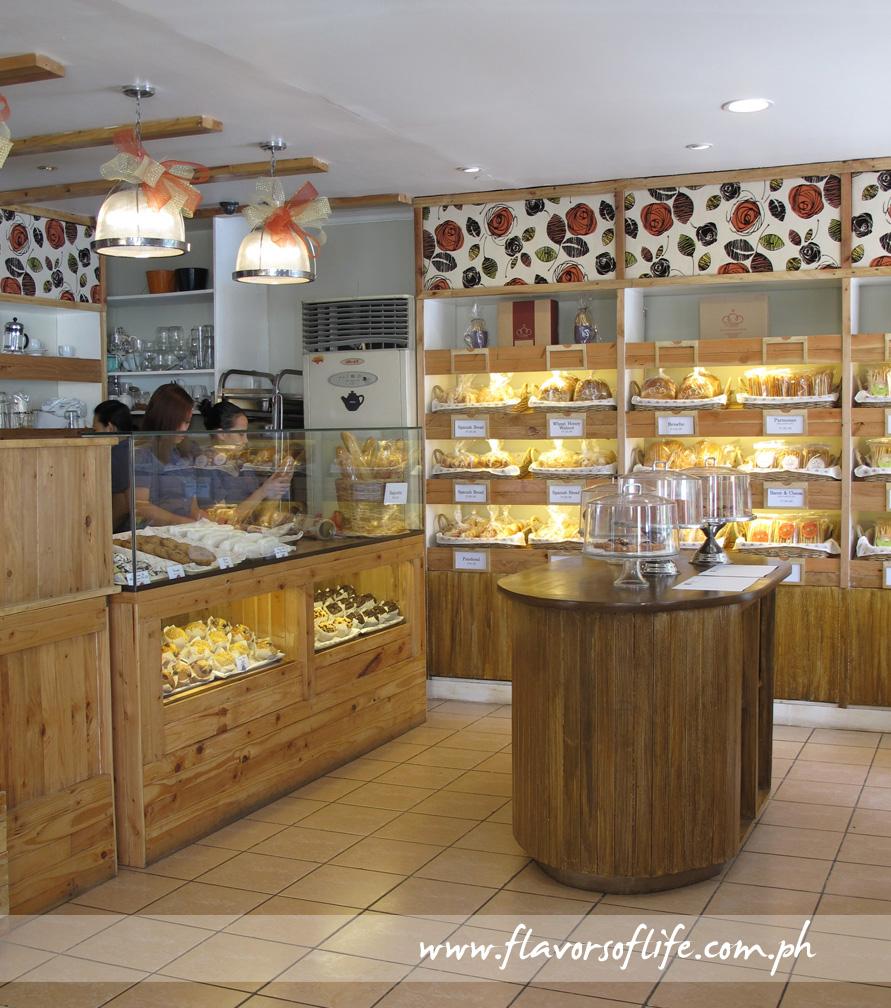 The bakery area of Harina Artisan Bakery Café