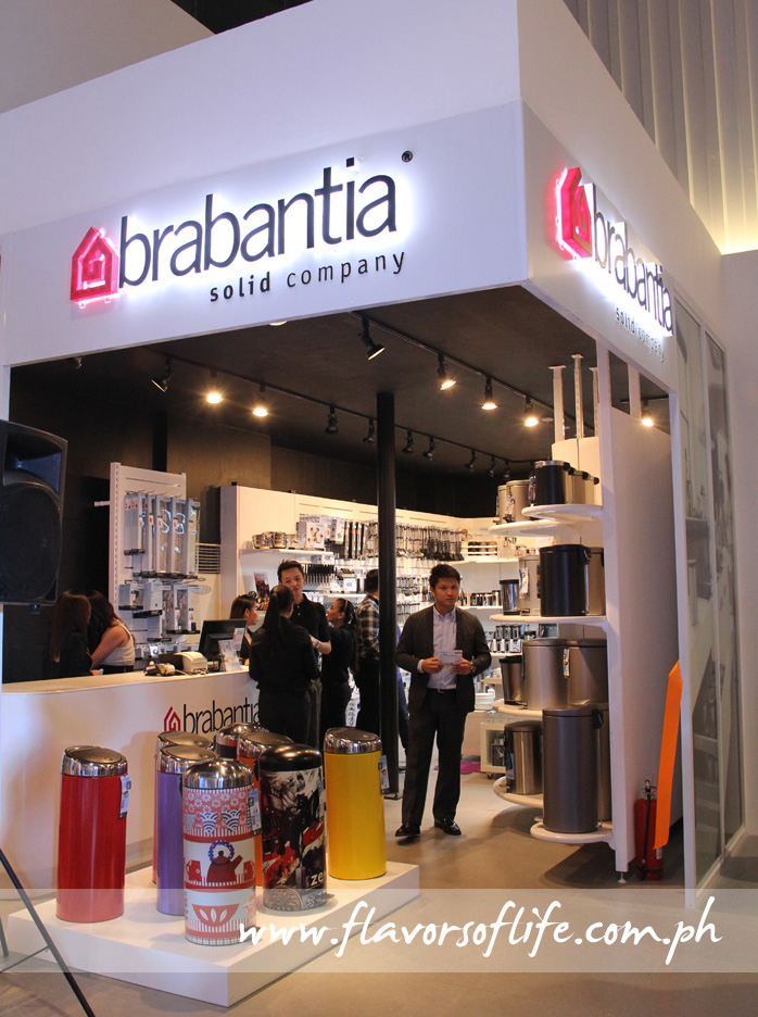 Brabantia's first Philippine store can is located on the third floor of Dimensione in Bonifacio Global City