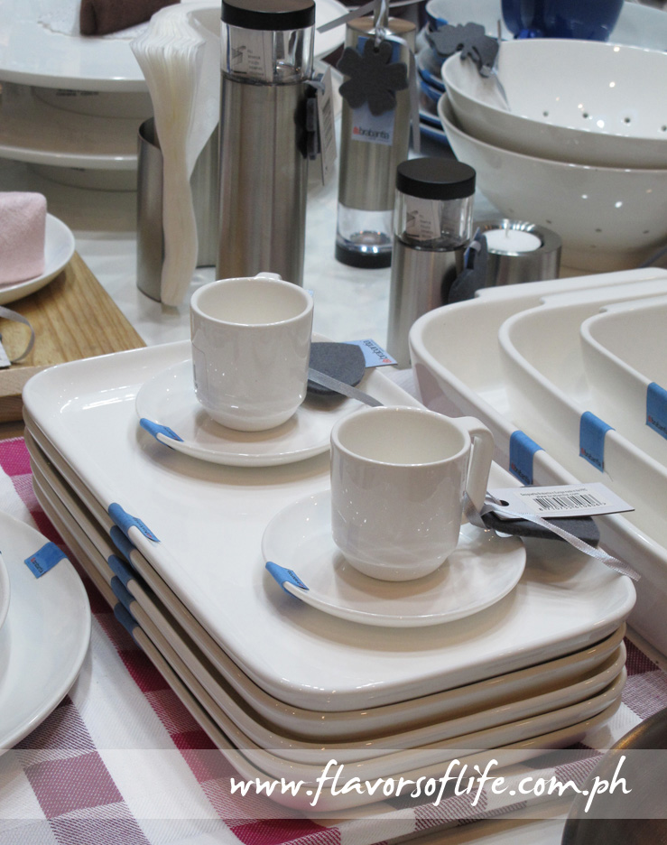 More tableware...