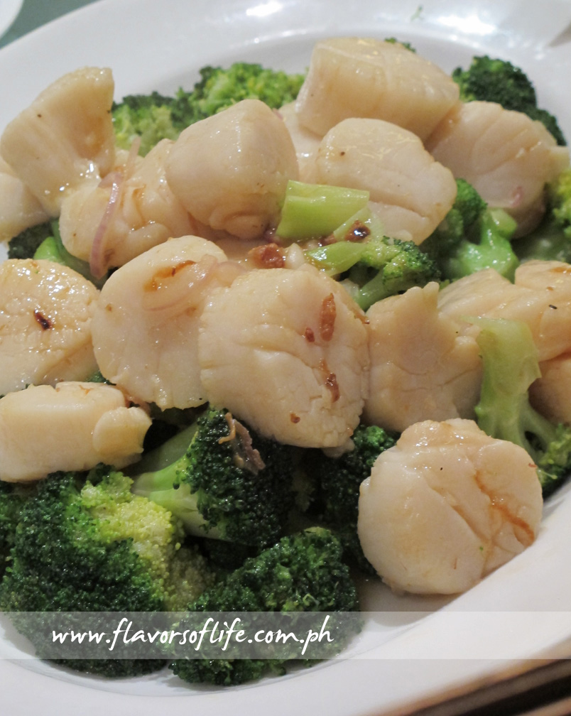 Stir-fried Scallops with XO Sauce