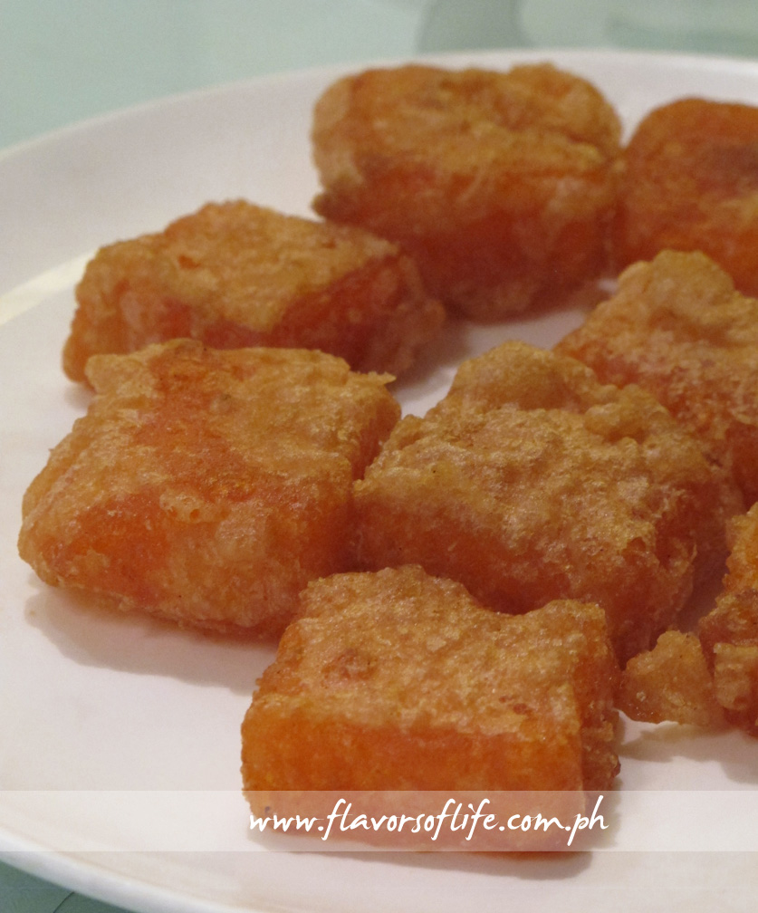 Crispy Fried Nian Gao
