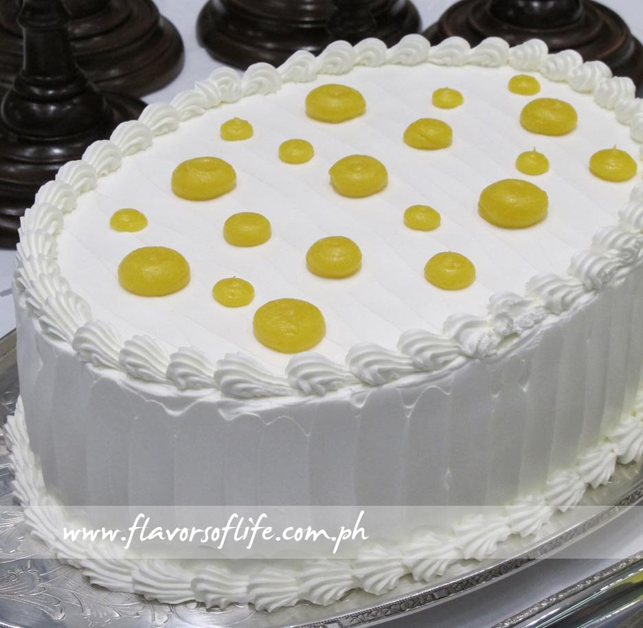 Lemon Torte (Desserterie by Heny Sison)