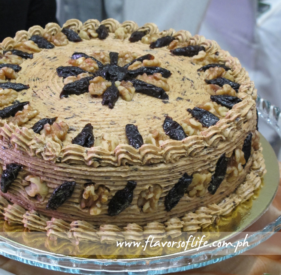 Prune Walnut Cake (Butterbelle Bakeshop)