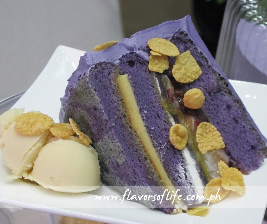 Halo-Halo Cake (UCC Coffee)