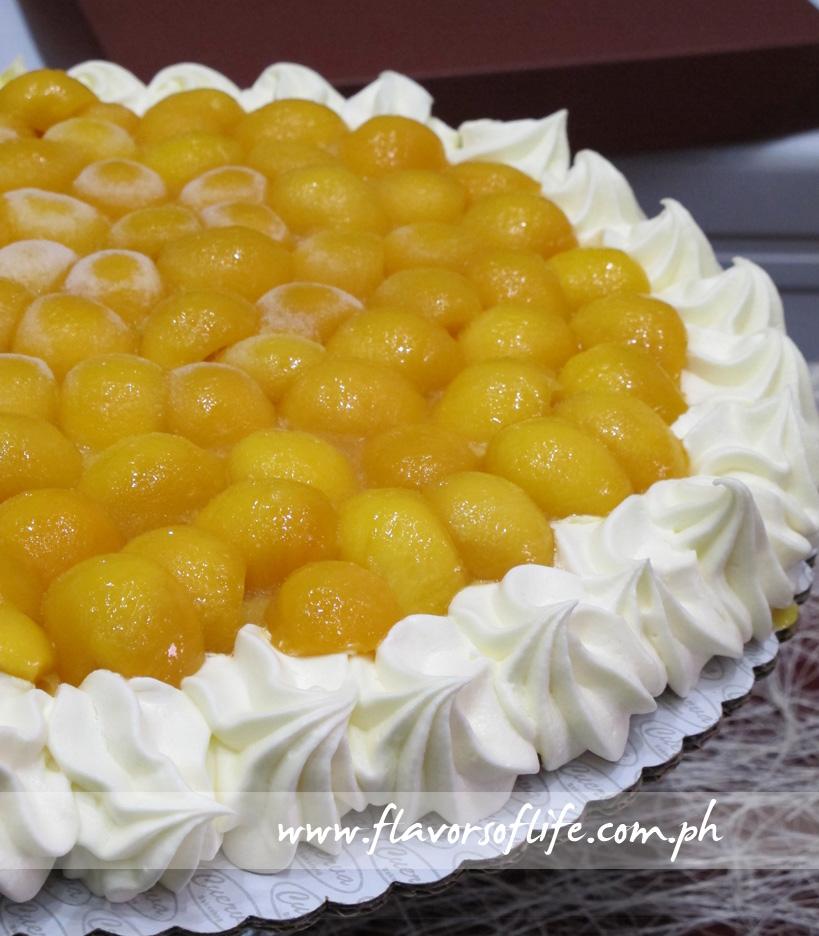 Mango Torte (Paz Reyes-Cuerva Bakeshop)