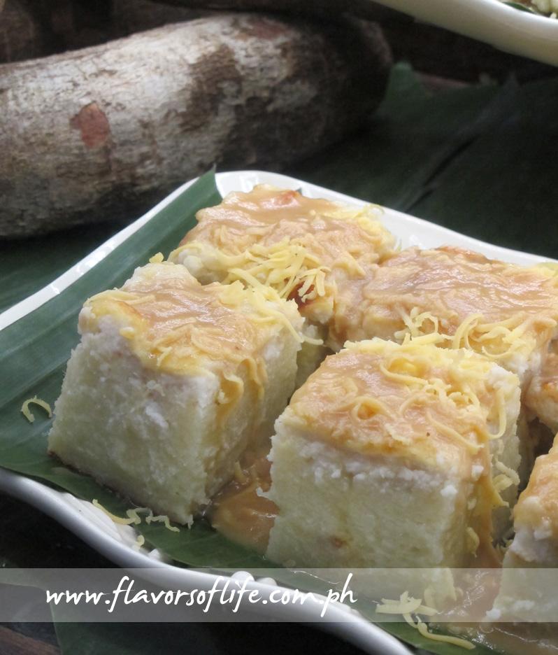 Cassava Cake (Cafe Juanita by Dr. Boy Vazquez)