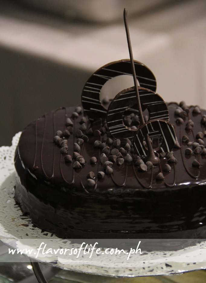 Richmonde Chocolate Cake (The Richmonde Hotels & Resorts)
