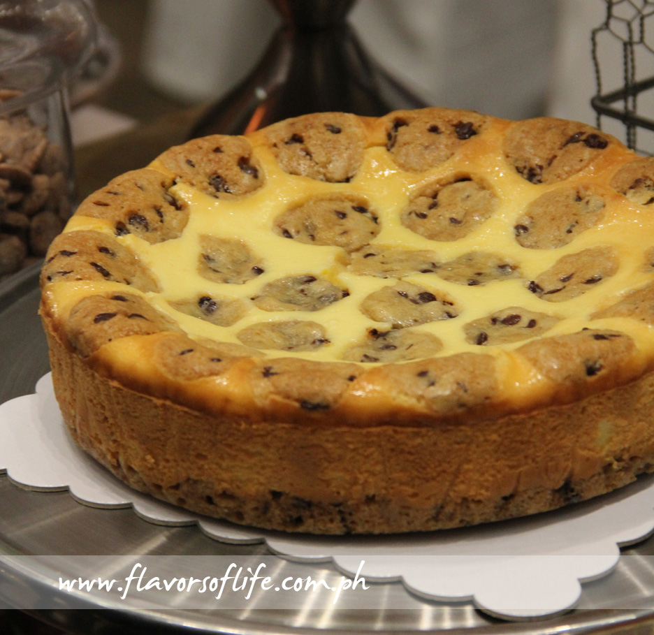 NY Chocolate Chip Cookie Dough Cheesecake (Chelsea Market & Cafe)