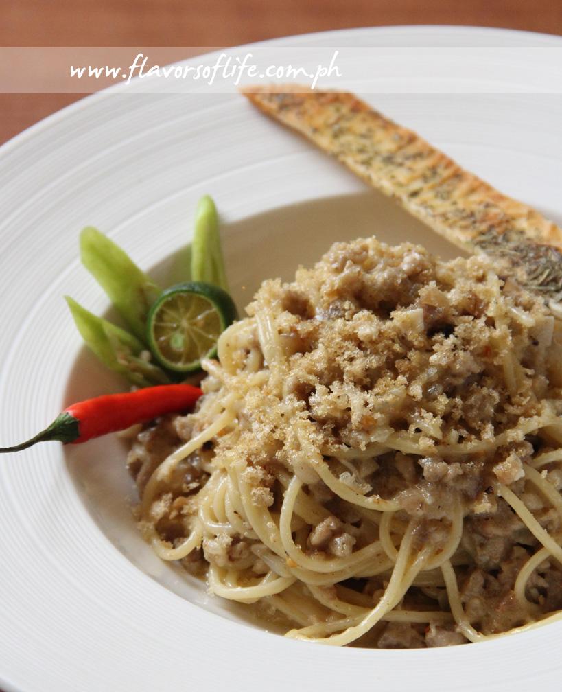 Sisig Spaghetti