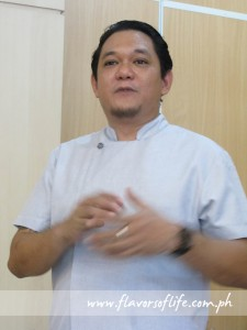 Chef Raki Urbina of Laguna Garden Cafe in Cebu