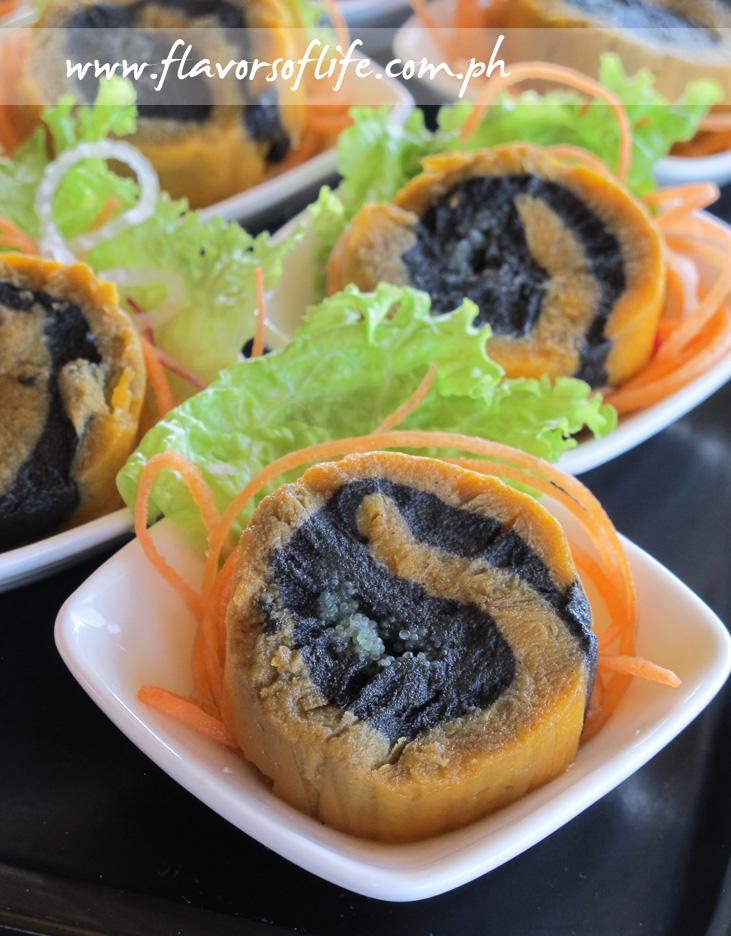 3-Flavored U.S. Potato Sushi