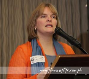 USPB international marketing manager Susan Weller