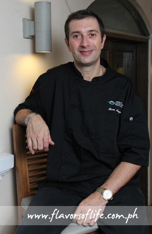 Chef Marco Anzani of Anzani New Mediterranean Restaurant