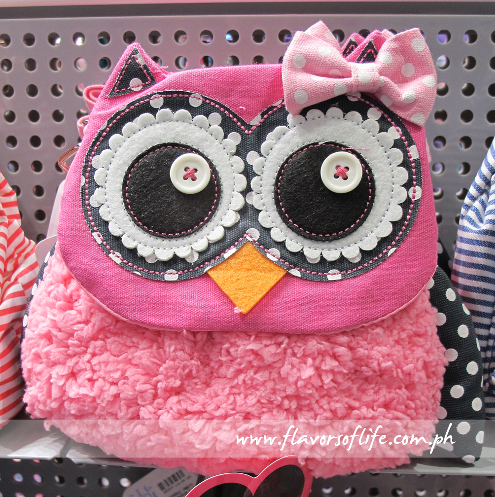 Eye-catching owl bag at Claire's