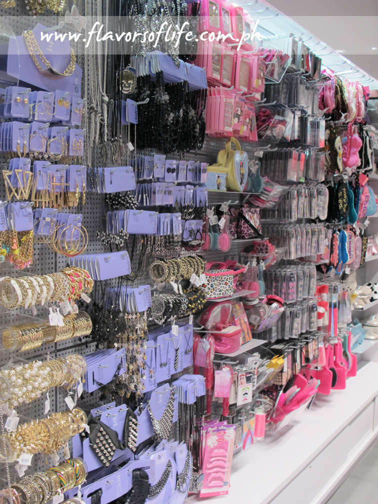 A wide range of fashion accessories available at Claire's