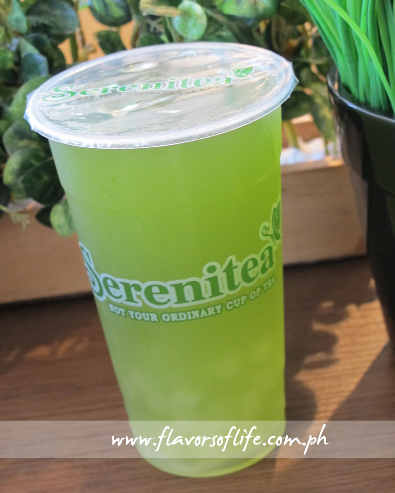 Green Apple Green Tea 100% Aloe Vera (Serenitea)