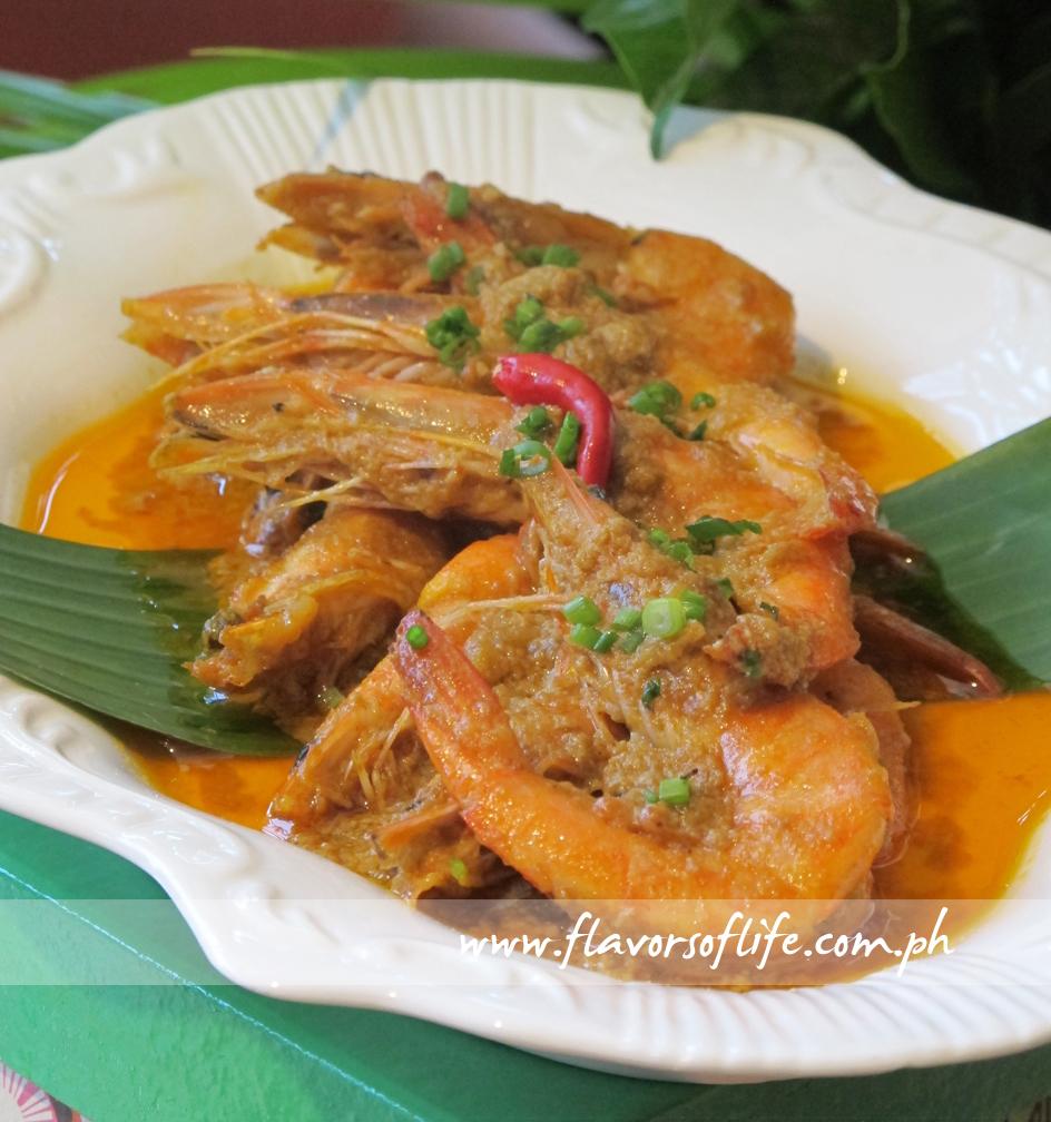 Shrimps in Spiced Coco Roasted Sauce (Zarzuela)