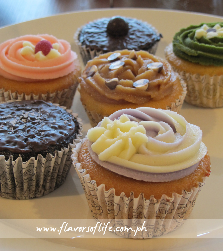Cupcakes galore from Gigi Coffee and Cupcakes