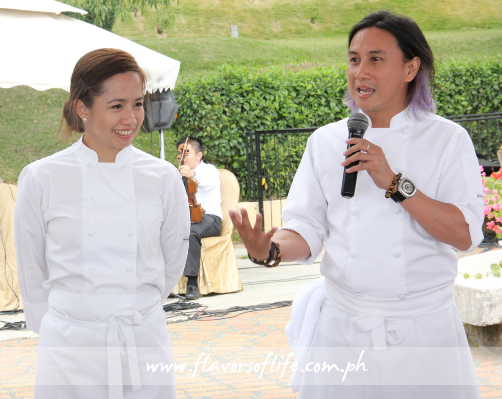 Chefs Jackie and Roland Laudico