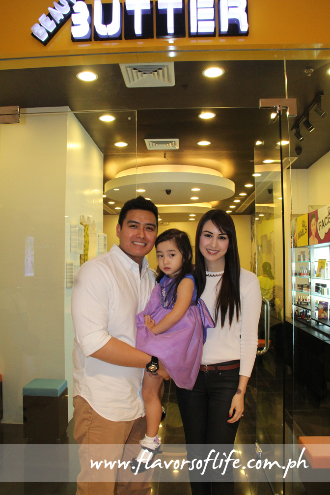 Beauty & Butter is owned by actor-politician Alfred Vargas and his lovely wife