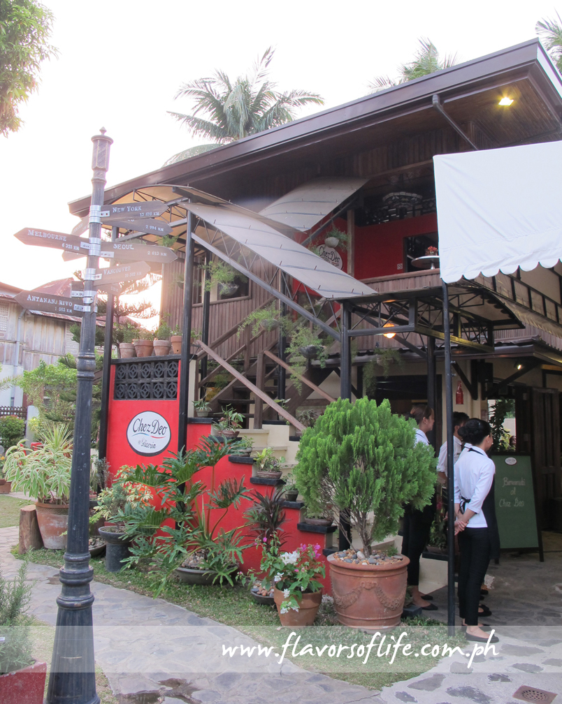 Chez Deo Ristorante Italiano has become a favorite destination dining place in Balayan, Batangas