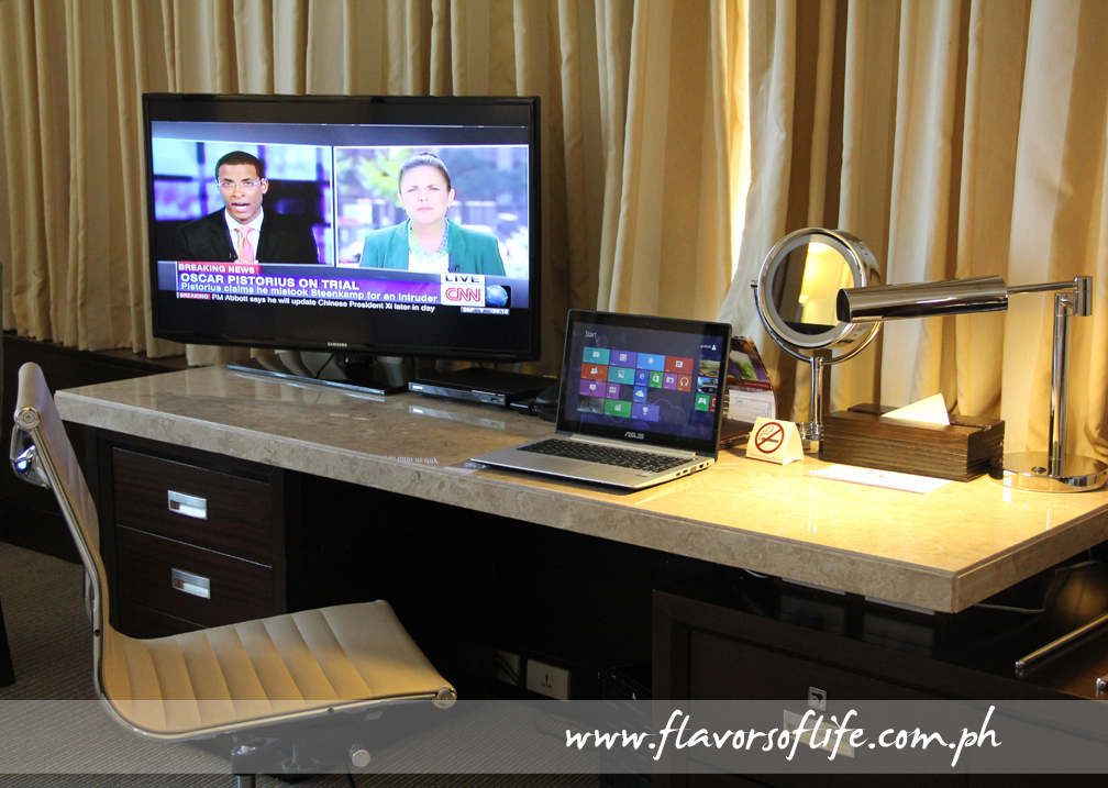 The work station in the room