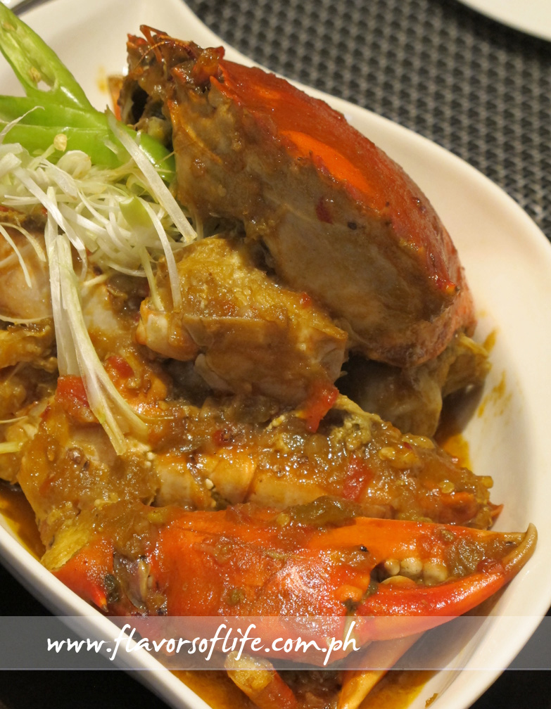 Cantonese Style Chili Crabs