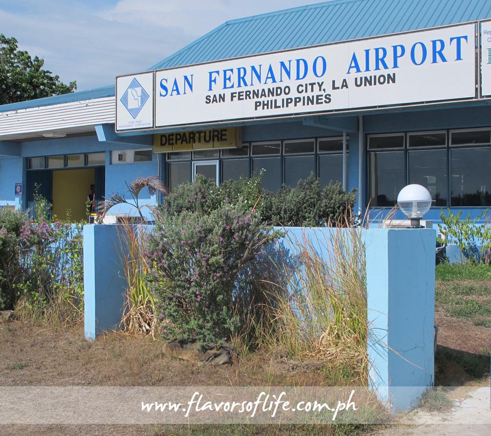 San Fernando Airport in San Fernando, La Union