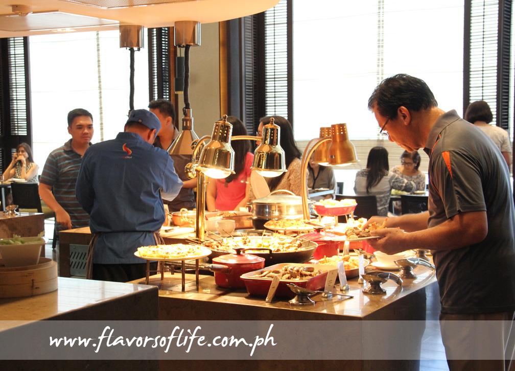 The buffet spread of Marco Polo Ortigas Manila's Cucina