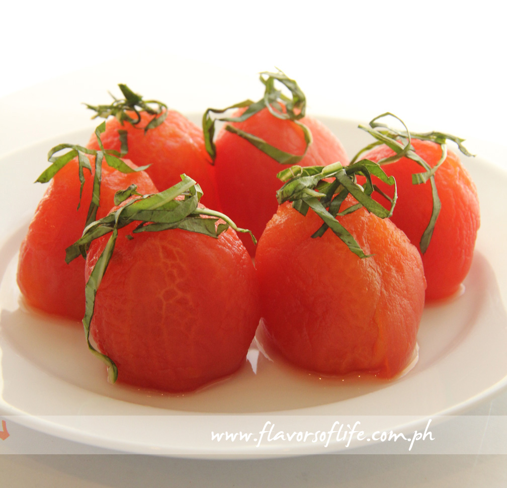 If you're lucky, and Judy Lao happens to be at Harina when you dine in, she might even offer you a taste of her Tomato Atchara with Basil Chiffonade
