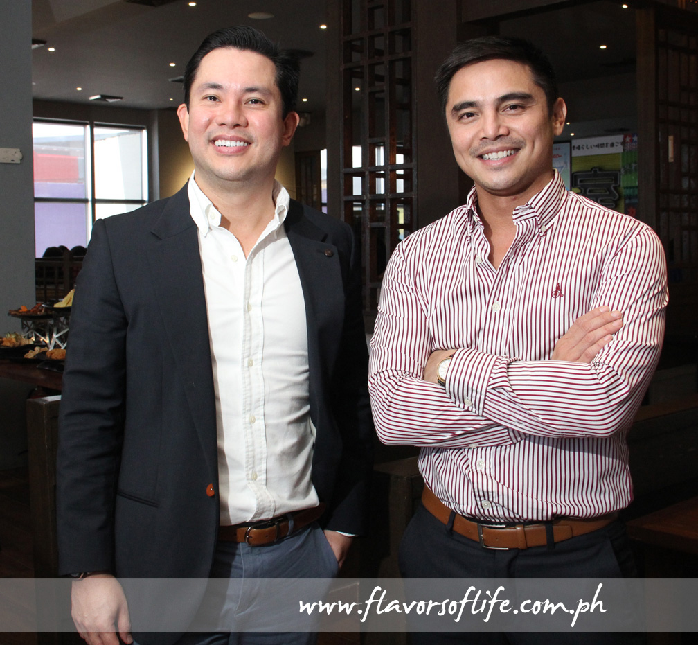 Two of the owners, Ricky Laudico and Marvin Agustin
