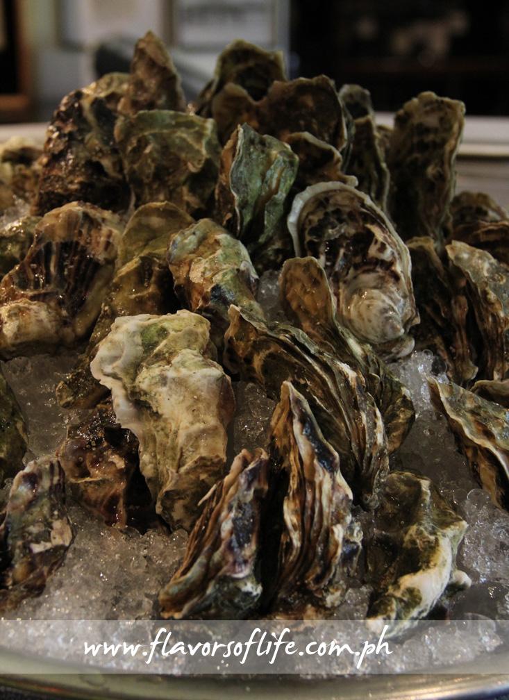 Fine de Claire oysters
