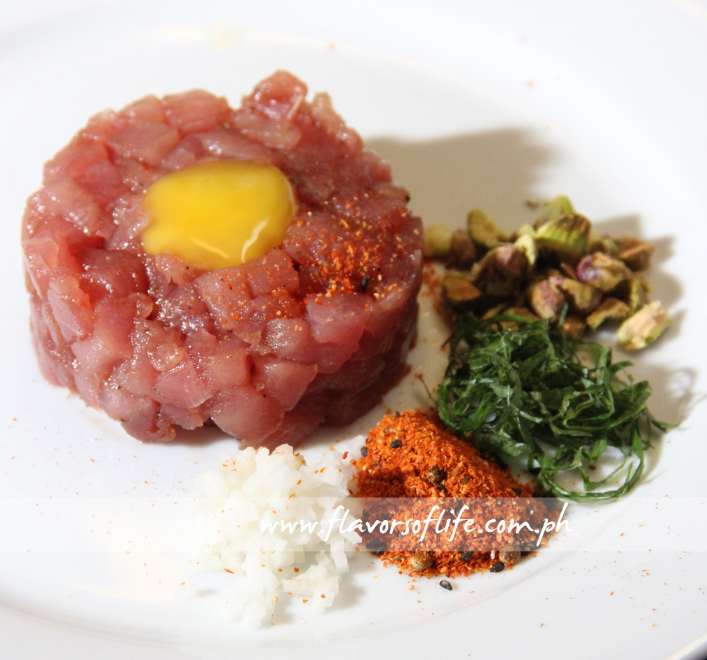 Tuna Tartare by Chef Bobby Chinn