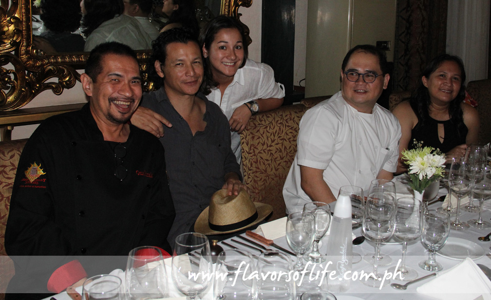 Another all-chef cast: Gene Gonzalez, Bobby Chinn, China Cojuangco Gonzalez, Junjun de Guzman and Janice de Belen