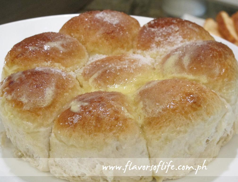 Freshly baked Pull Apart Bread