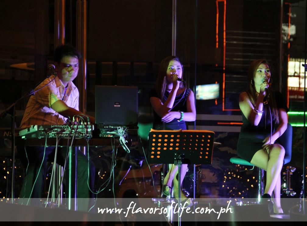 Live entertainment at Lush Bar