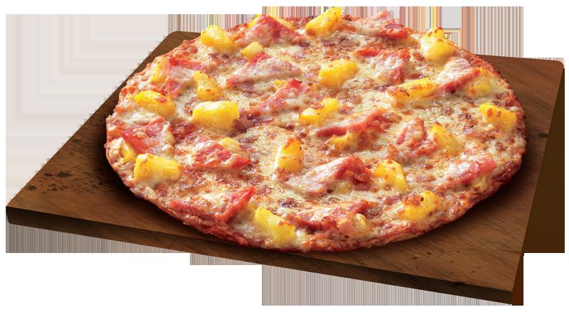 Double Hawaiian Pizza Thins