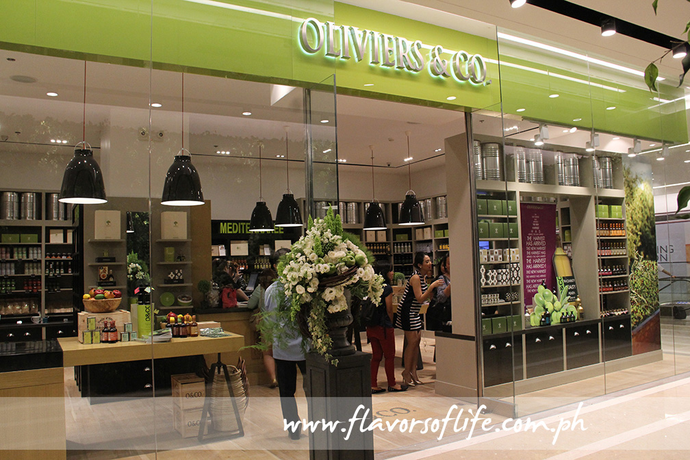 Oliviers & Co.'s first Philippine store is now open at the Central Square at Bonifacio High Street Central