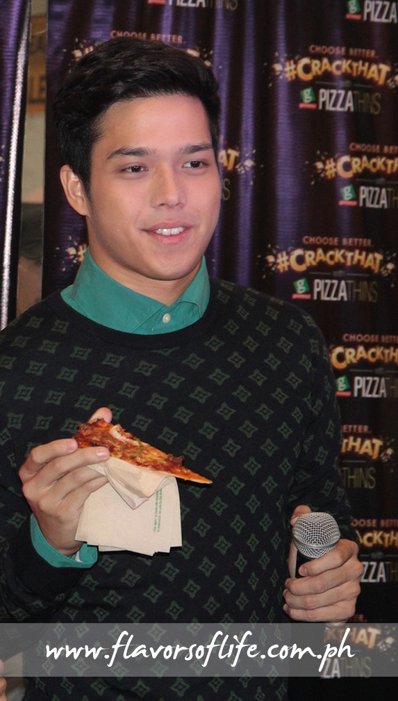 Elmo Magalona is the rapper behind the catchy #Crack That radio commercial of Greenwich