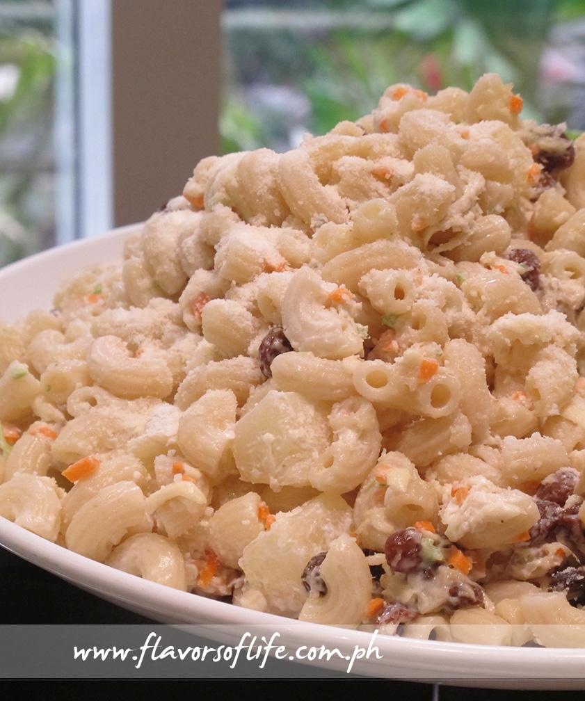 Cheesy Macaroni Salad