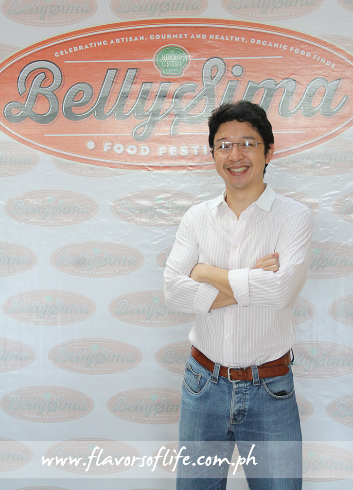 RJ Ledesma from The Mercato Centrale Group was one of the organizers of the BellySima Food Festival at Glorietta