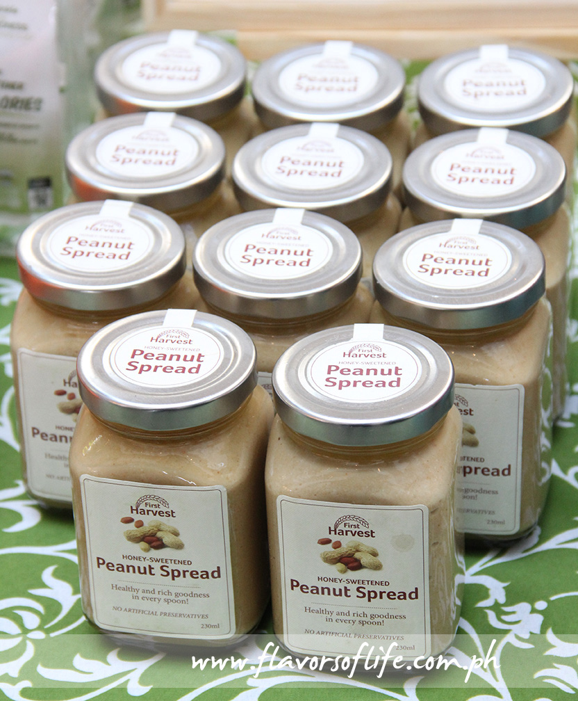 Peanut Spread, also from the Gawad Kalinga booth