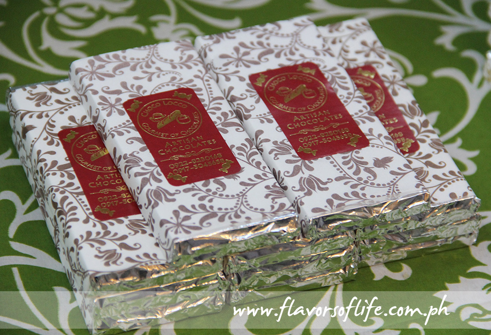 Choco Locco Gourmet of Chocolates' Cappuccino Chocolate Bars