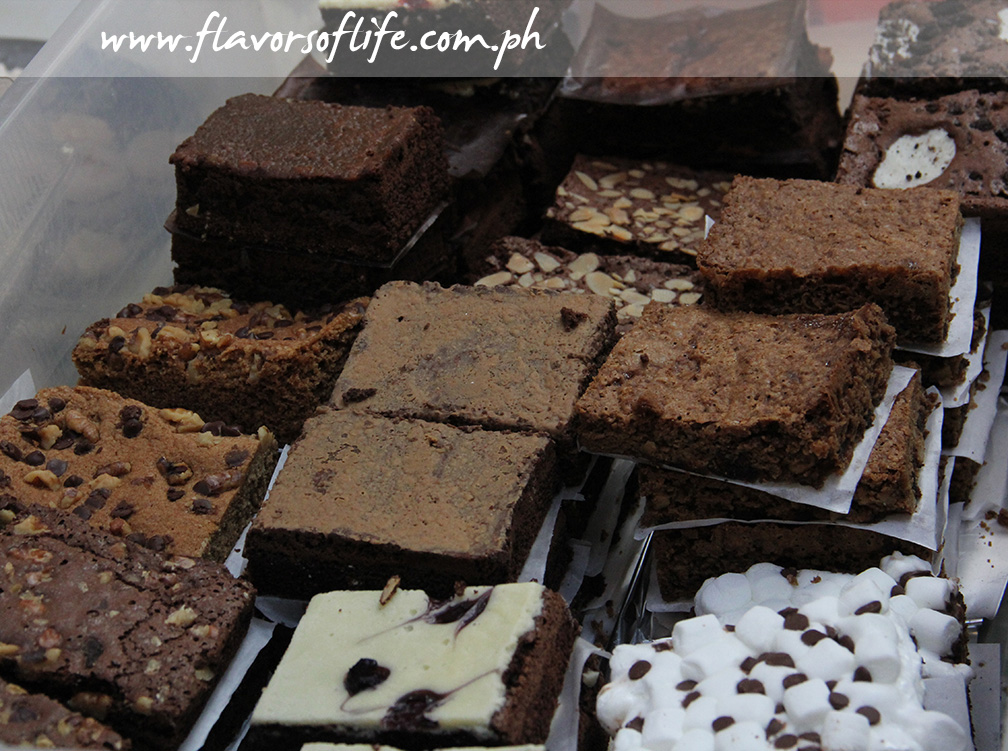 Assorted Brownies -- three pieces for Php100