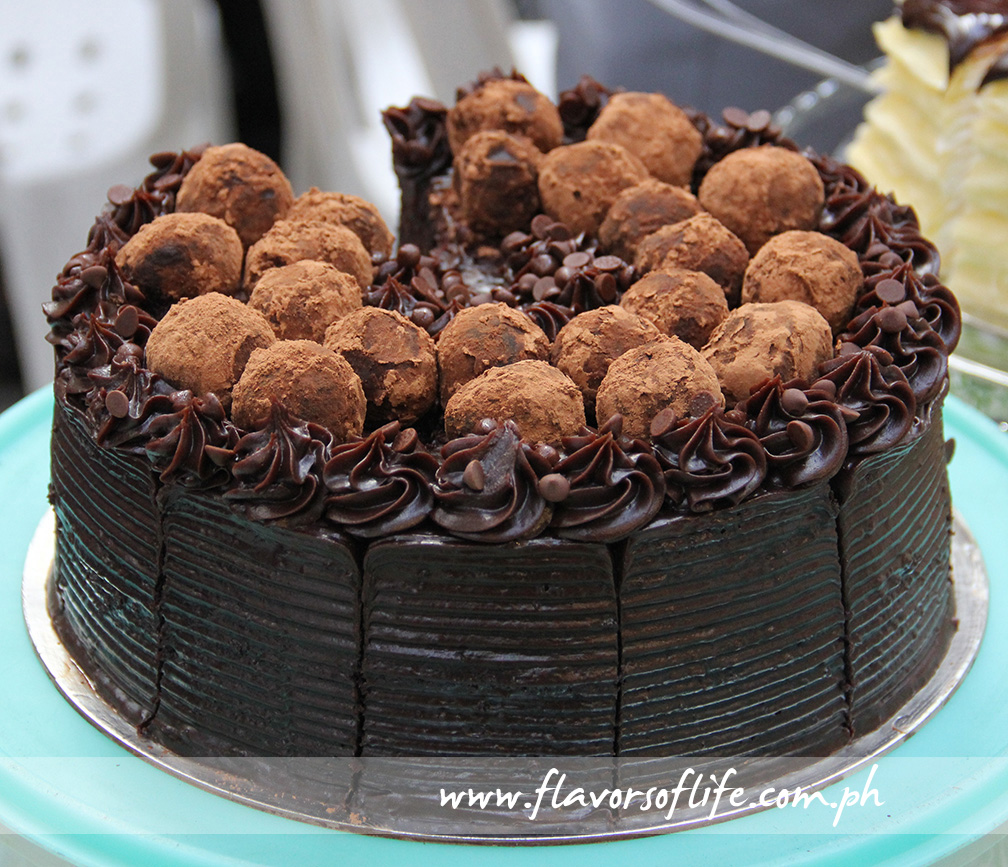 Chocolate Truffle Cake was one of the exciting finds at the BellySima Food Festival held at Glorietta